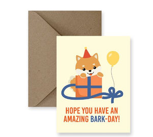Hope You Have An Amazing Bark-Day Card - IM Paper