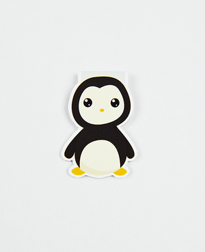 Penguin  - Magnetic Bookmark - IM Paper