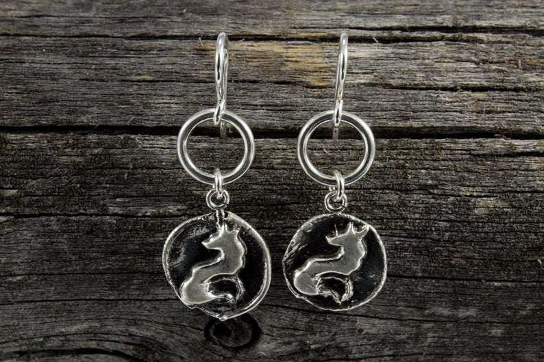 Fox Totem Earrings - Mackenzie Jones
