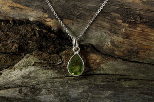 Peridot Necklace - Mackenzie Jones