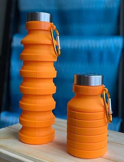 Orange Water Bottle - Love Thy Planet