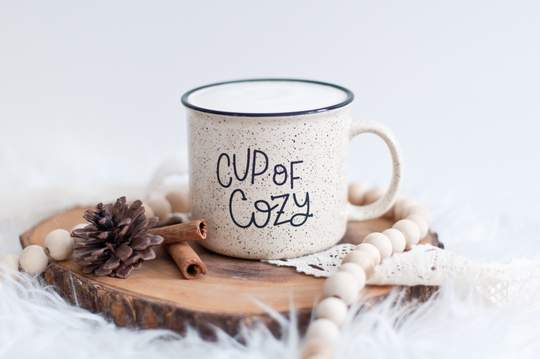 Cup of Cozy Camp Mug - Spruce + Sky