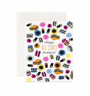 All Sorts Of Fun Card - Jaybee Design