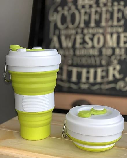 White / Matcha Green Coffee Cup - Love Thy Planet