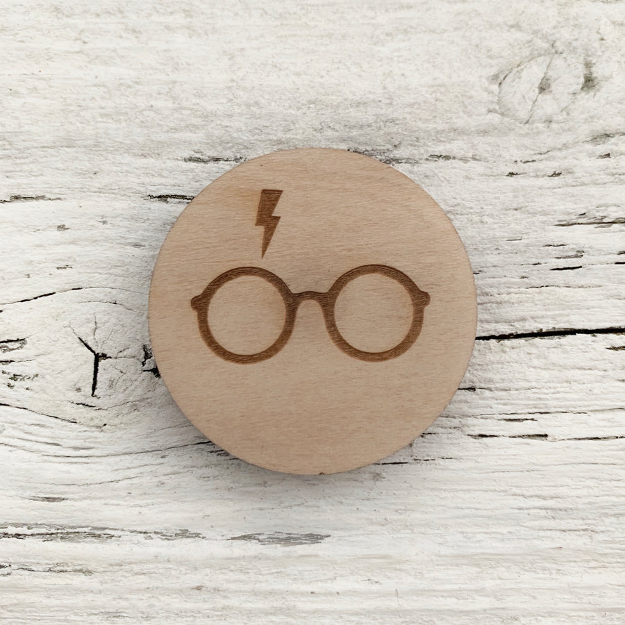Harry Potter Magnet - Etch'd Designs