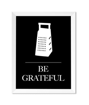 Be Grateful 8x10 Print - IM Paper Co