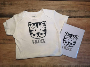 Fierce Onesie - All Decked Out Events