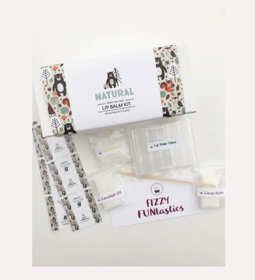 Natural Lip Balm Kit - Fizzy Funtastics
