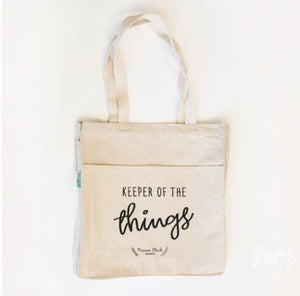 Keeper of the Things Tote - Prairie Chick Prints