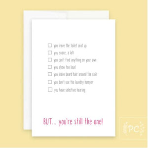 You're Still The One Card - Prairie Chick Prints