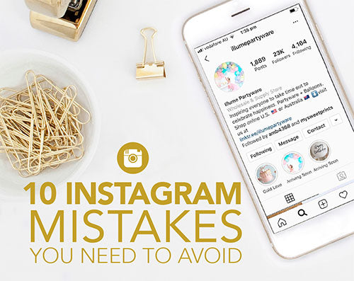 10 Instagram Mistakes You Need To Avoid