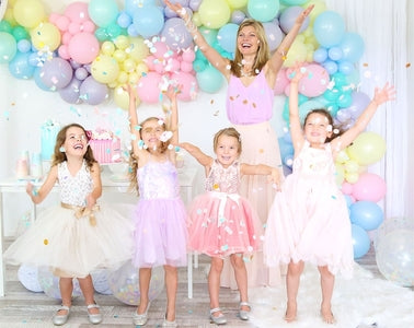 Sorbet Pastel Balloon Party