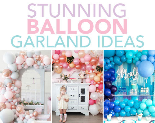 Stunning Balloon Garland Ideas