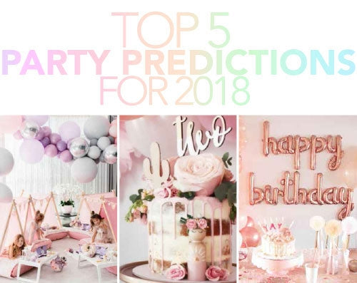 Top 5 Party Predictions For 2018
