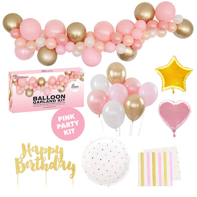 Pink Party Kit Med