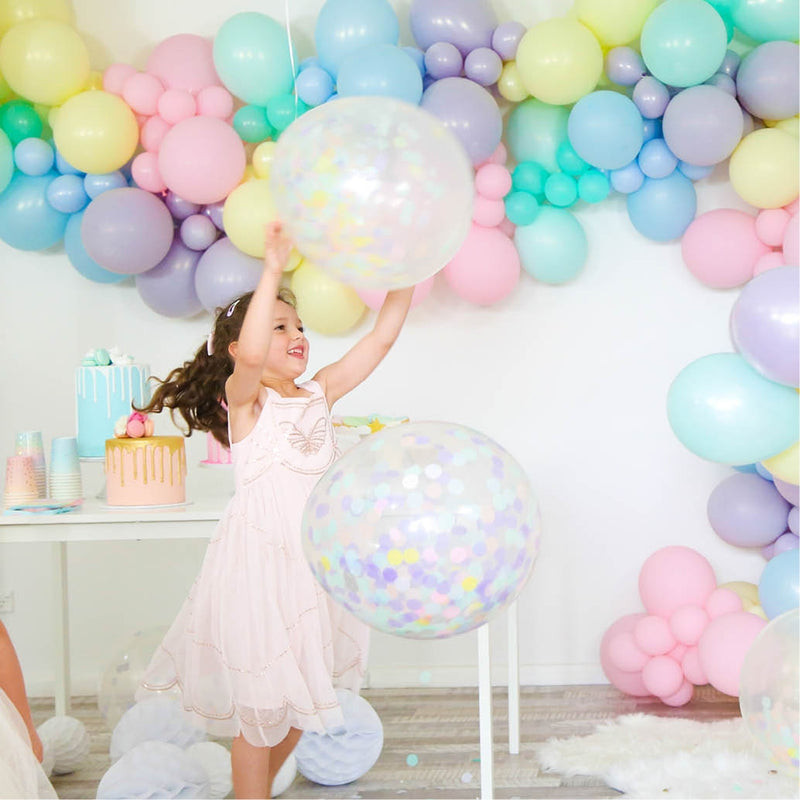 Confetti Balloons - Pack of 3 - Pastel