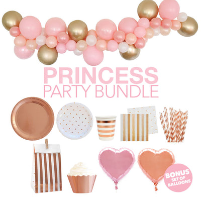 Princess Partyware & Decorations Kit