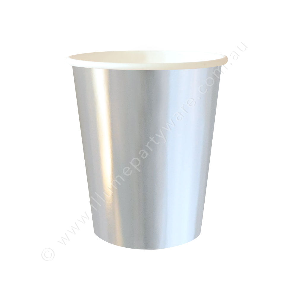 Silver Foil Cup - Pack of 10