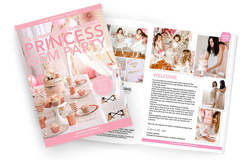 Princess party planning ebook inside