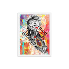 "Load image into Gallery viewer, GUERRERA ""Rebel Series"" Framed Print"
