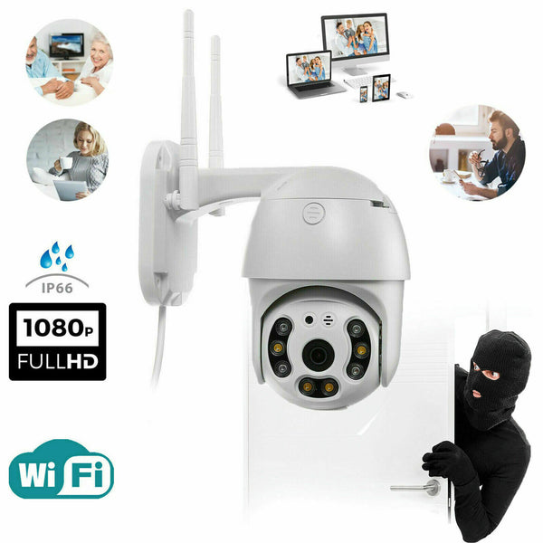 TELECAMERA FULL HD 1080P WIRELESS IP PER VIDEOSORVEGLIANZA WIFI SMART CAMERA