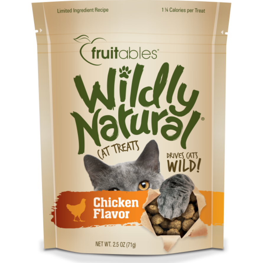 Wildly Natural® Chicken Cat Treats
