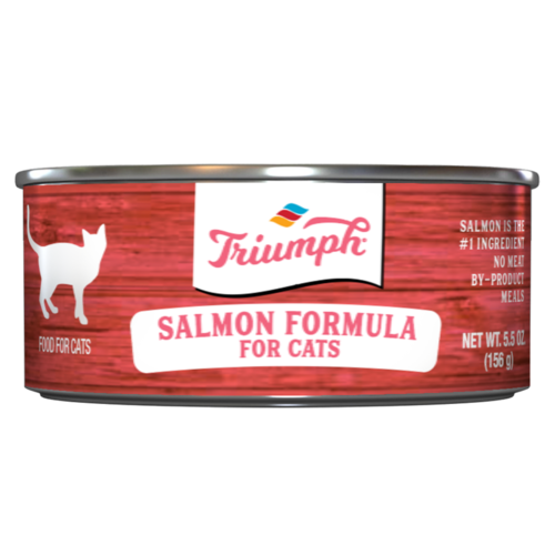 Triumph Salmon Formula Cat Food