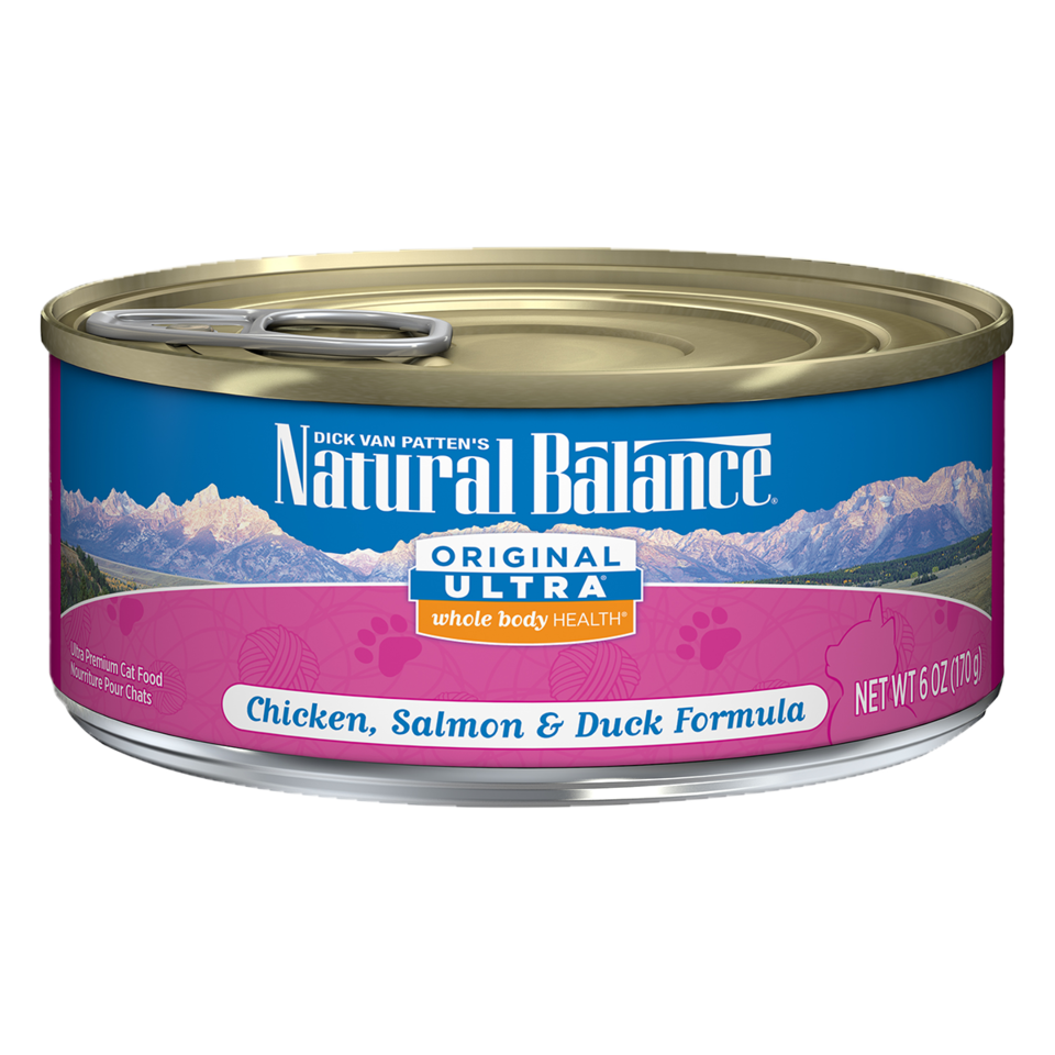 Original Ultra™ Chicken, Salmon & Duck Canned Cat Formula