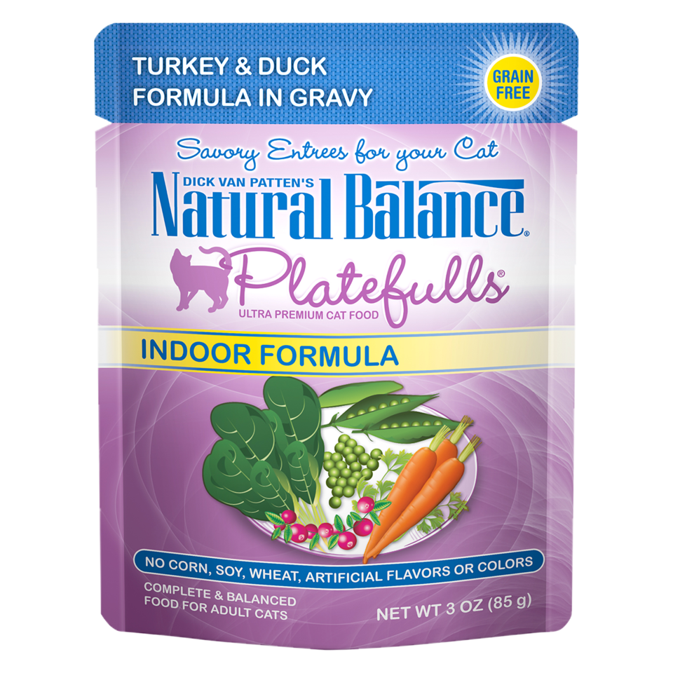 Platefulls® Indoor Turkey & Duck Formula in Gravy