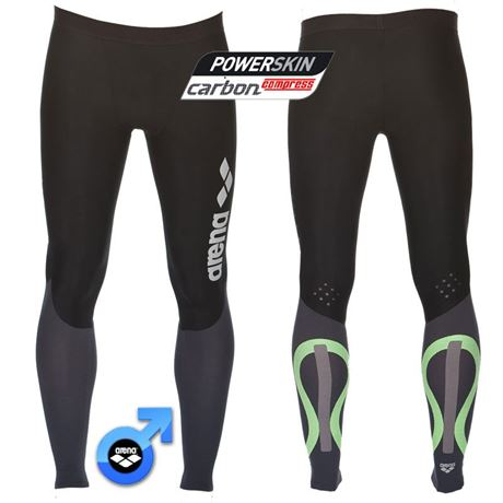 MEN'S CARBON COMPRESSION LONG TIGHTS