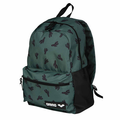 ARENA - TEAM BACKPACK 30 ALLOVER - CACTUS (002484-100) front side