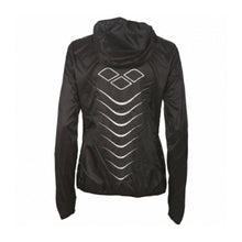 Load image into Gallery viewer, ARENA - W RUN WINDBREAKER - BLACK (001550-500) back