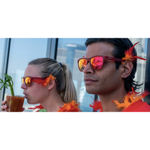 Load image into Gallery viewer, GOODR - PHOENIX AT A BLOODY MARY BAR - RED GOODR RUNNING SUNGLASSES - FACE