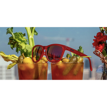 Load image into Gallery viewer, GOODR - PHOENIX AT A BLOODY MARY BAR - RED GOODR RUNNING SUNGLASSES - PRODUCT