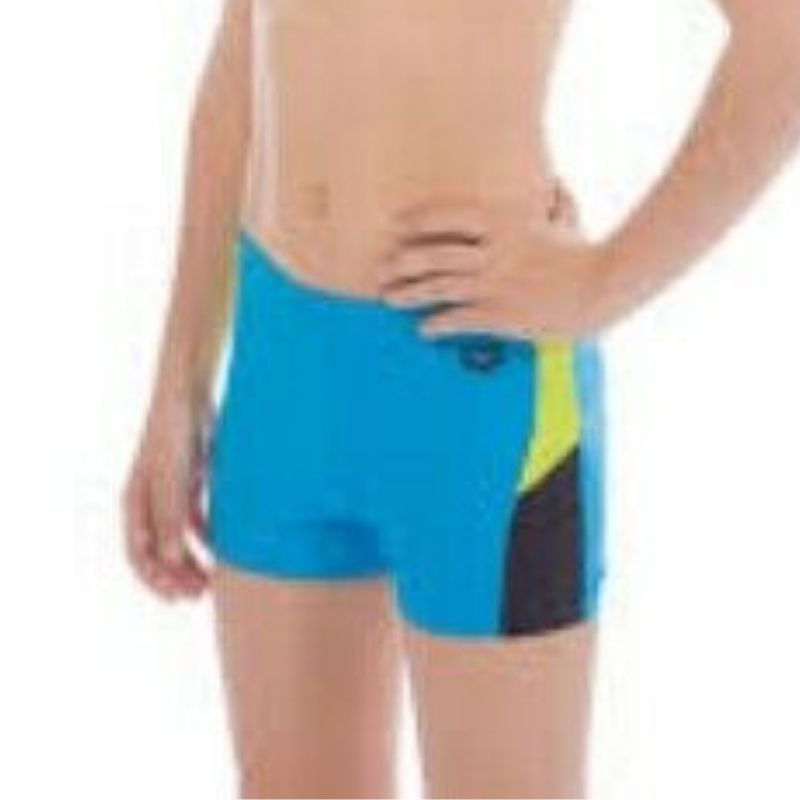 ONLY SIZE 26 - BOYS' REN SHORTS - TURQUOISE/GREEN