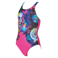 Load image into Gallery viewer, ONLY SIZE 29 - GIRLS' PALETTE ONE-PIECE SWIMSUIT