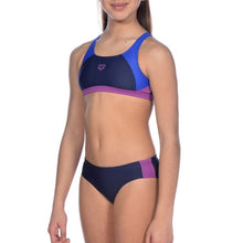 Load image into Gallery viewer, ONLY SIZE 26 - GIRLS' REN BIKINI - BLUE/PURPLE
