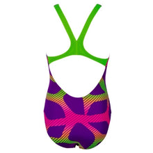 Load image into Gallery viewer, ONLY SIZE 24 - GIRLS' SPIDER ONE-PIECE SWIMSUIT
