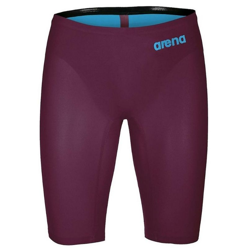 MEN'S POWERSKIN R-EVO ONE JAMMER - RED WINE/TURQUOISE