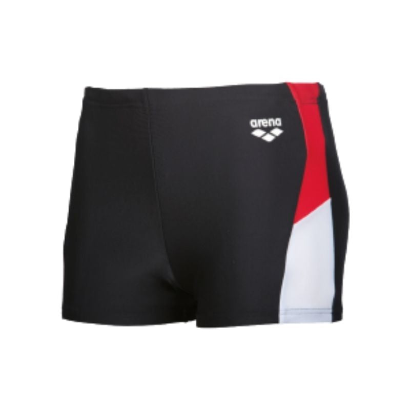 ONLY SIZE 34 - MEN'S REN SHORTS - BLACK/RED