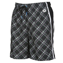 Load image into Gallery viewer, MEN'S PRINTED CHECK BERMUDA SWIM SHORTS