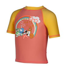 Load image into Gallery viewer, TODDLER GIRLS' UV SHORT SLEEVE WATER SHIRT