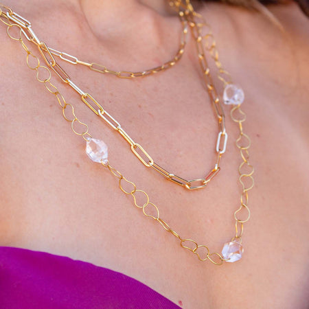 Herkimer Diamond Chain