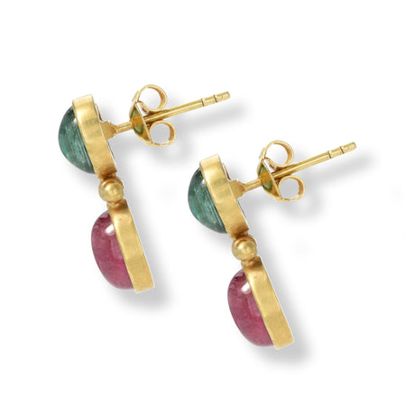 Tourmaline Short Drop Earrings
