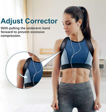 "Load image into Gallery viewer, Posture Corrector for Women, iThrough Back Braces for Posture Correction for Men, Back Straightener Clavicle Support and Providing Pain Relief from Neck, Back and Shoulder (Fit 37-49"") (L)"