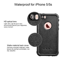 Load image into Gallery viewer, iPhone 5 5S SE Waterproof Case