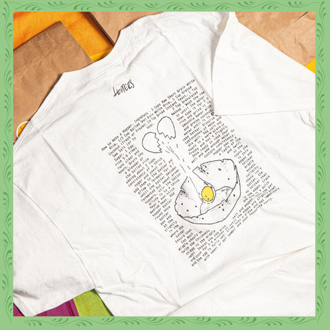 HOW TO MAKE AN EGG HOPPER T-SHIRT