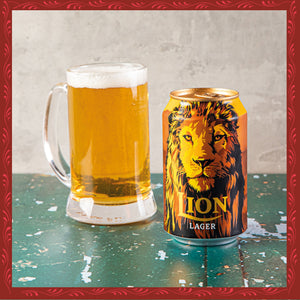 LION LAGER (330ML)