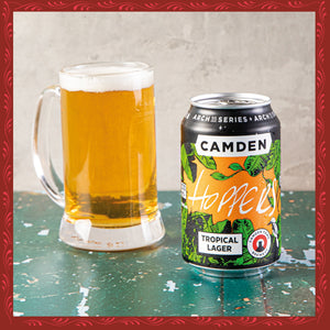 HOPPERS x CAMDEN TOWN BREWERY TROPICAL LAGER (330ML)