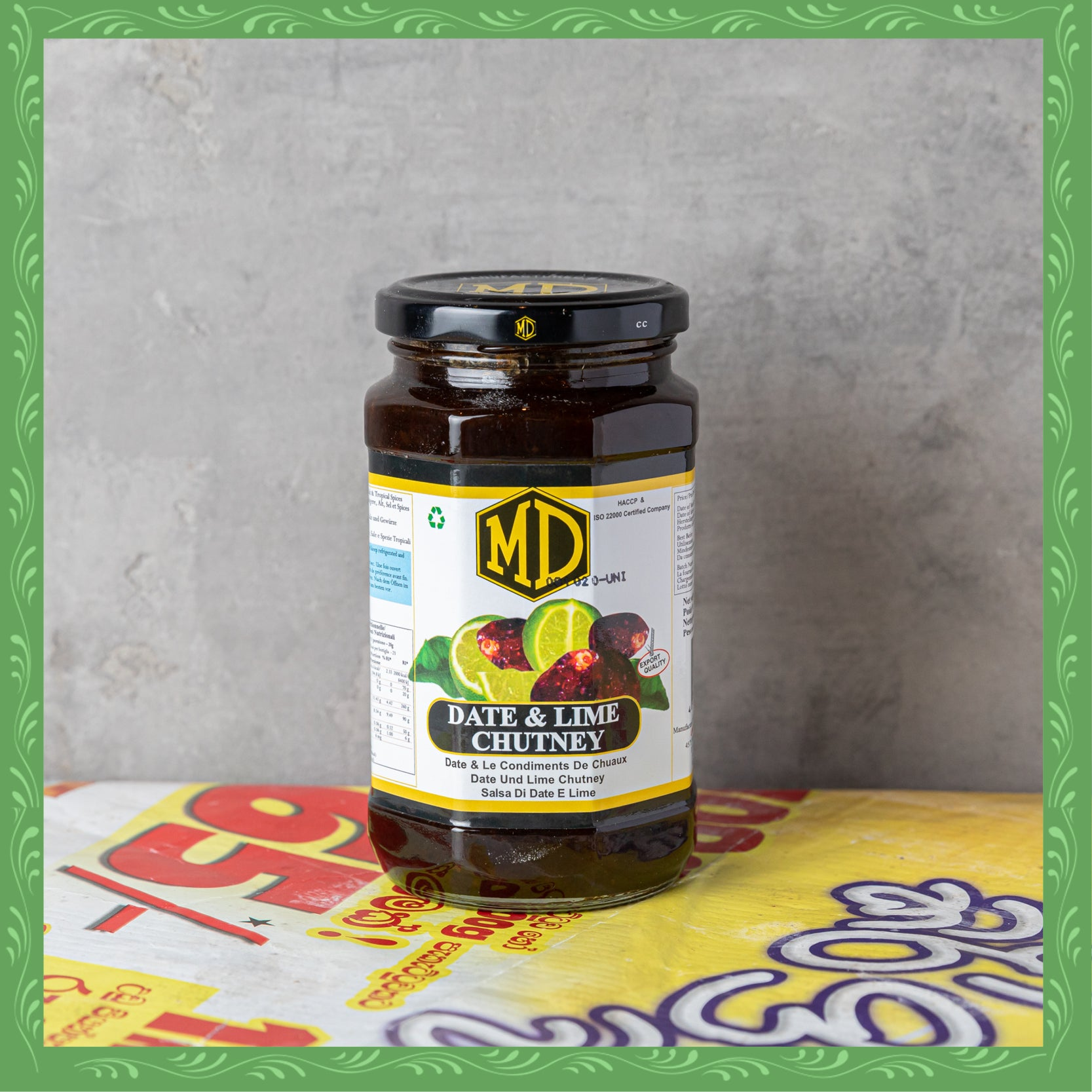 MD Date & Lime Chutney (450g)